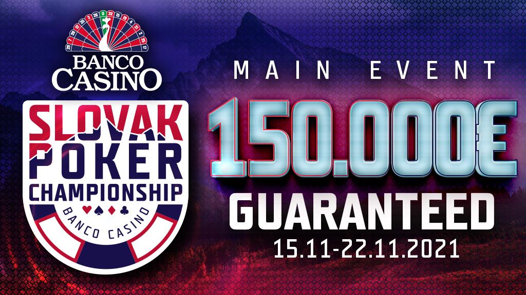 Slovak Poker Championship 150.000€ GTD Main Event v novembri!