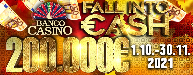 Jeseň v Banco Casino rozdá 200.000€ - odneste si tisíce eur z kasína!