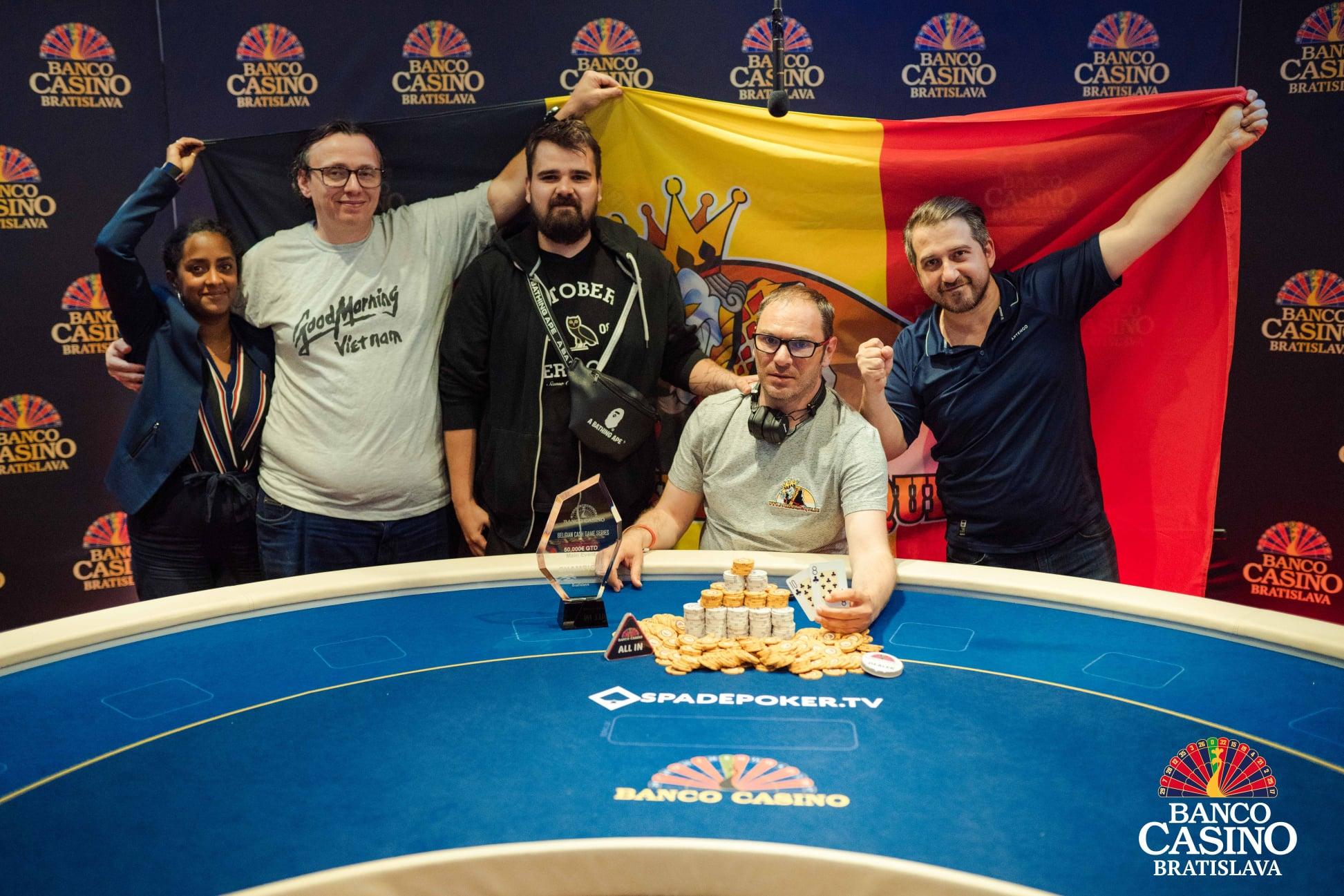 Belgian Cash Game Series mit Preispool über €73.000 beendete belgischer Sieg!